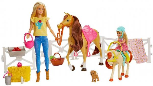 Image of Barbie Hestefold - Barbie Hugs n Horses FXH15