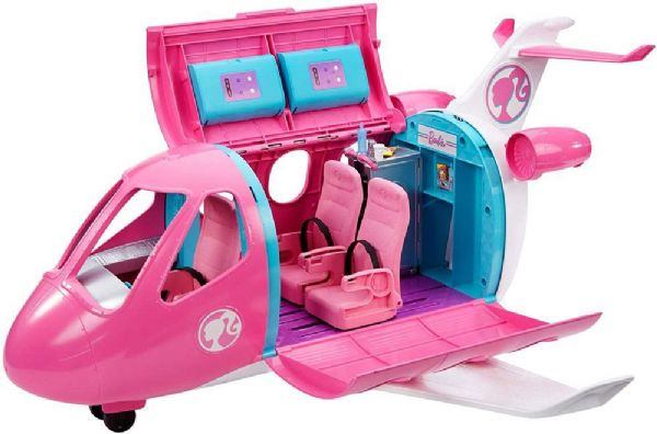 Image of Barbie Drømme Flyvemaskine - Barbie air plane GDG76