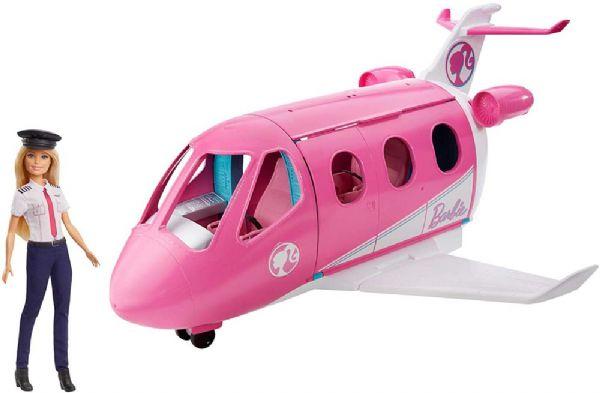 Image of   Barbie Dream flyvemaskine, inkl.dukke - Barbie Rejse dukke GJB33