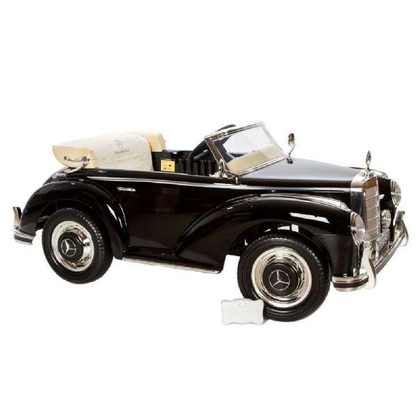 Image of   Mercedes 300S 12V sort - El bil til børn 300S