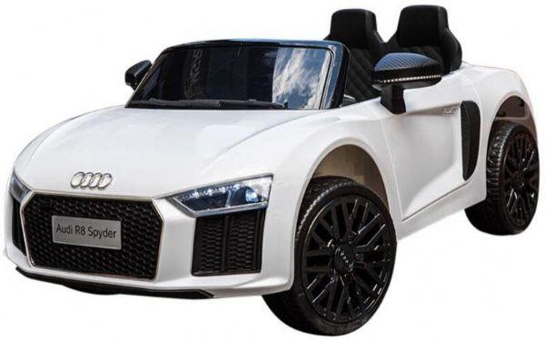 Image of   Audi R8 Hvid El bil 12V - El bil til børn 000442