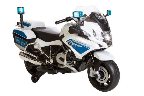 Image of BMW R1200 Police motorcykel 12V - El bil til børn 000794 (291-000794)