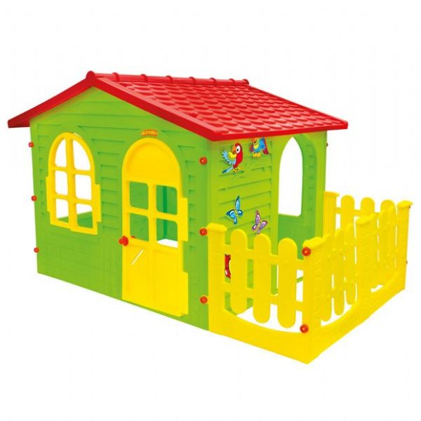 Image of   Legehus XL med hegn Little Toys - Legehus Little Toys 001023