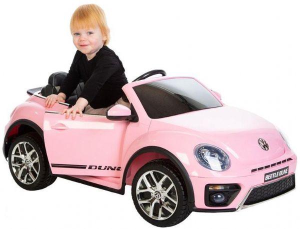 Image of VW Beetle Dune 12V Pink - El bil til børn 001036 (291-001036)