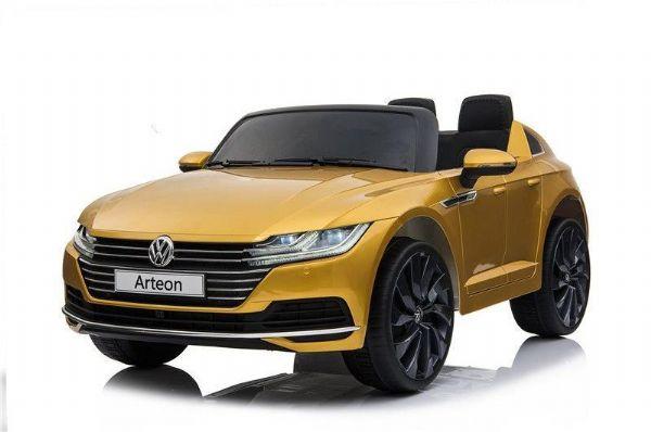Image of VW Arteon 12V Gul - El bil til børn 001098 (291-001098)