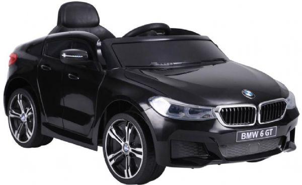 Image of BMW 6 GT Sort 12V - Elbil til børn 001128 (291-001128)