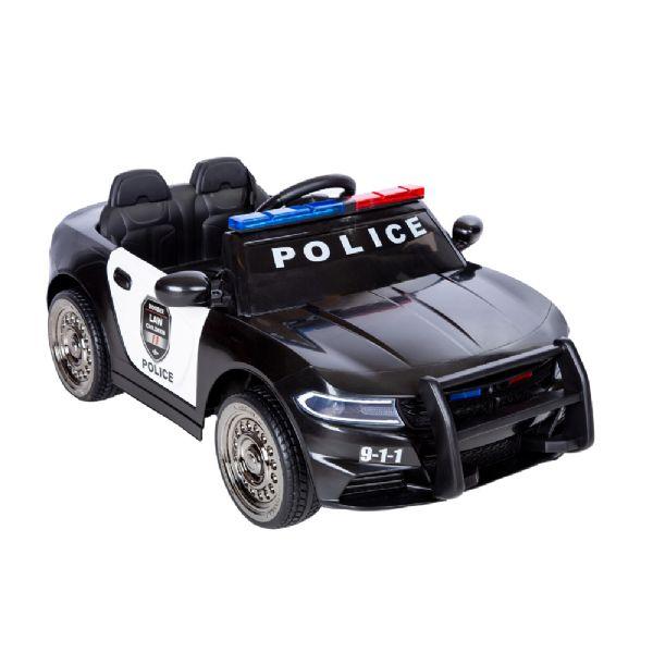 Image of Azeno 12V Politi Bil - Elbil til børn 001289 (291-001289)