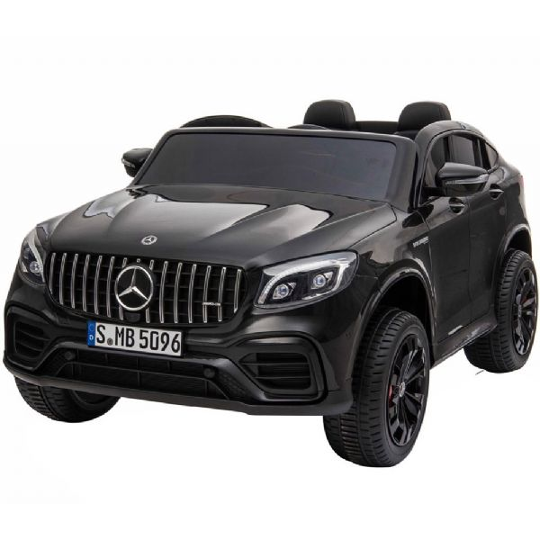 Image of   Mercedes GLC 63S Coupe 12V sort, 2 pers - El bil til børn 001678