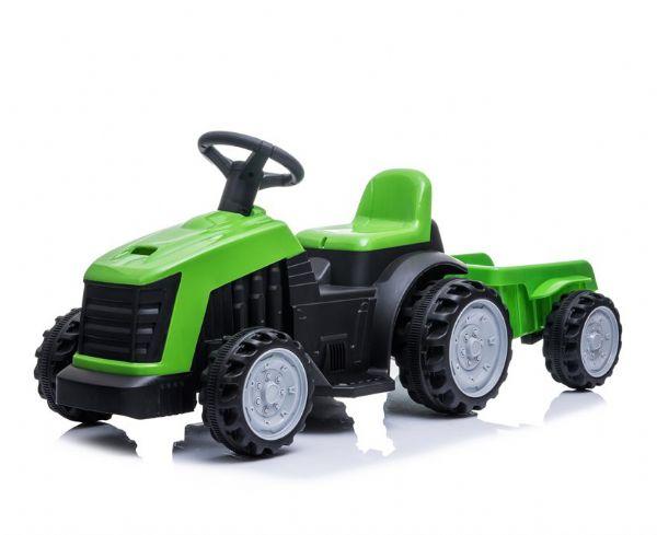 Image of Azeno 6V Traktor med trailer - El bil til børn 001760 (291-001760)