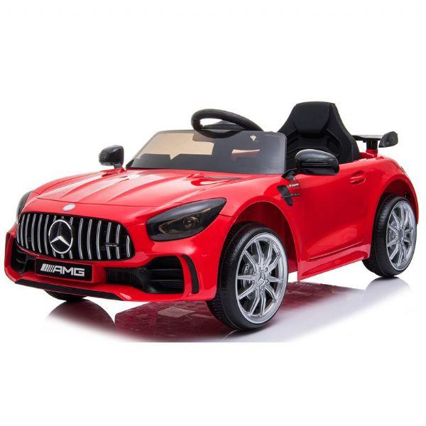 Image of Mercedes GTR AMG 12V rød - El bil til børn 001838 (291-001838)