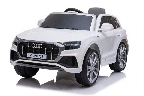 Image of Audi Q8 12V hvid - El bil til børn 001906 (291-001906)