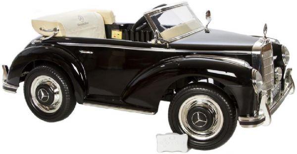 Image of Mercedes 300S 12Volt m. gummihjul - Elbiler til børn 030039 (291-030039)