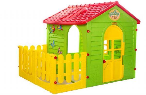 Image of   Legehus med hegn Little Toys - Legehus Little Toys 108392