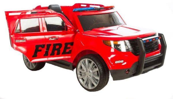 Image of   Azeno 12V SUV Fire - Elbil til børn 993515