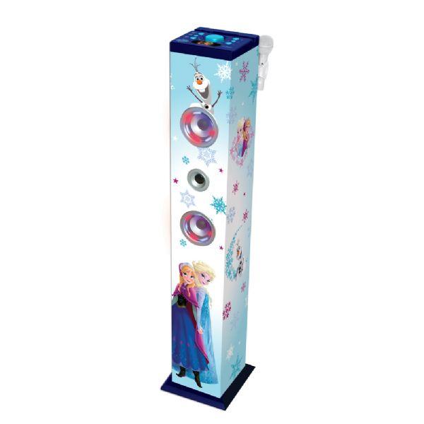 Frost Bluetooth Lyd og Lys Højtaler - Disney Frozen karaoke højtaler 49236 - Musikinstrumenter Børn - Frost