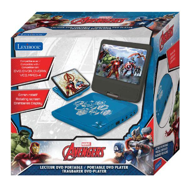 Image of   Avengers Bærbar DVD afspiller - Avengers DVD afspiller 54094