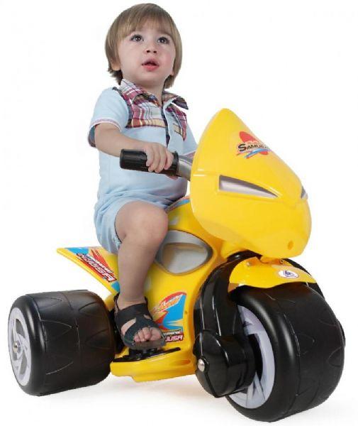 Samurai El Motorcykel 6V - Injusa Elmotorcykel Til Børn 125