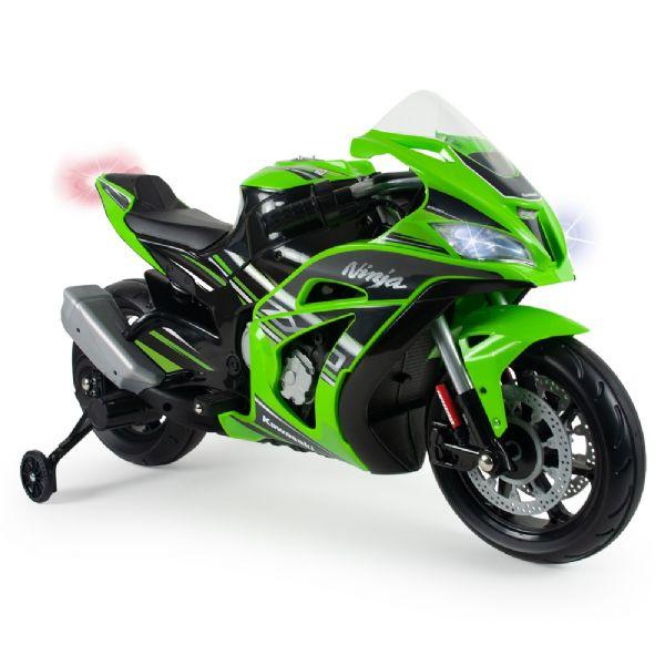 Image of   Kawasaki Ninja El Motorcykel 12V - Elbil til børn 12v 6495