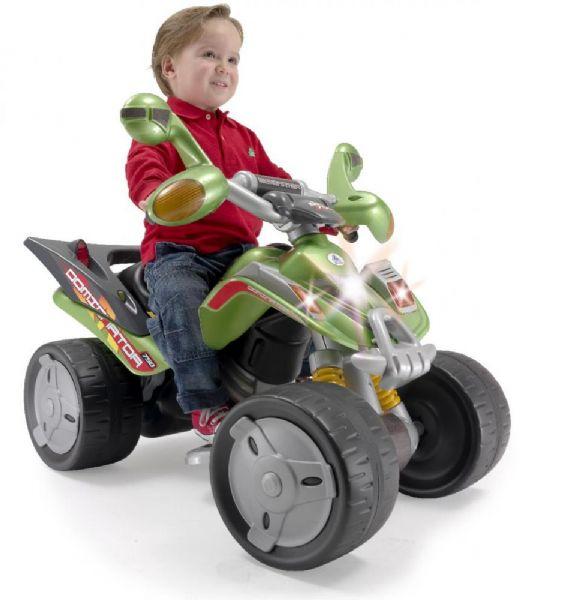 Image of   Dominator EL Motorcykel 12V - Injusa El motorcykel til børn 6601