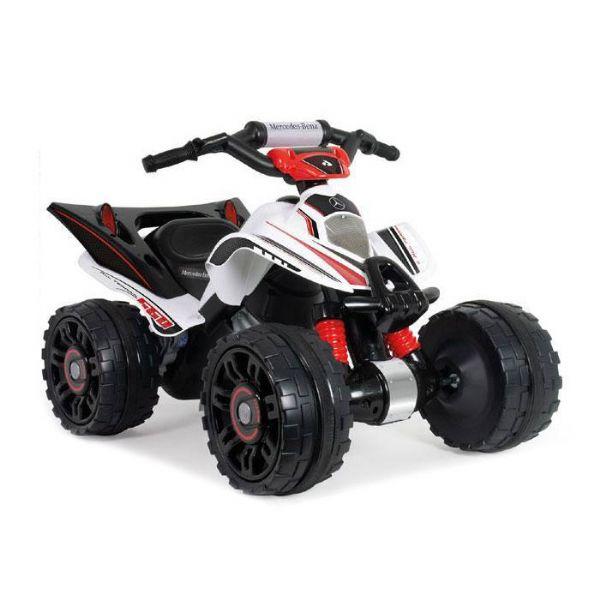 Image of   Mercedes-Benz ATV Quad 12v - Elbil til børn 12 volt 66022
