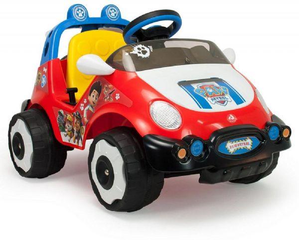 paw patrol – Paw patrol elbil 6v - elbil til børn 6 volt 71033 fra eurotoys