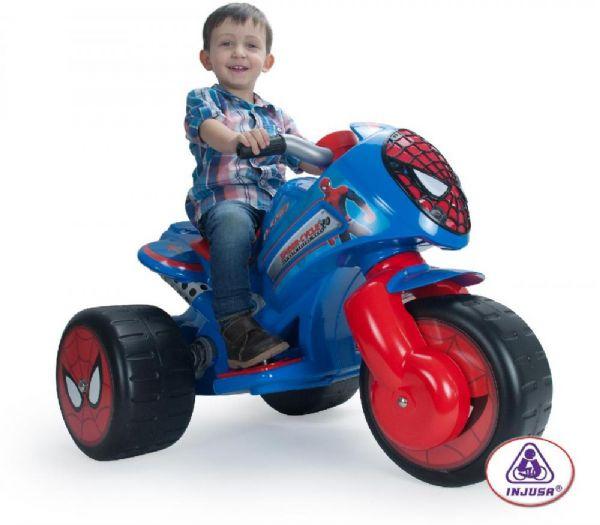 Image of Spiderman el motorcykel 6V - Injusa El motorcykel til børn 72960 (298-072960)