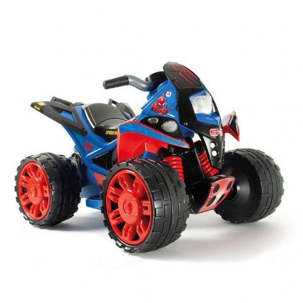 Image of   Spiderman ATV Quad 12v - Elbil til børn spiderman 12 volt 76160