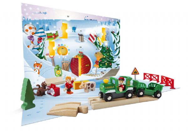 Image of   Brio Julekalender 2019 - Brio Advent Calender 33814