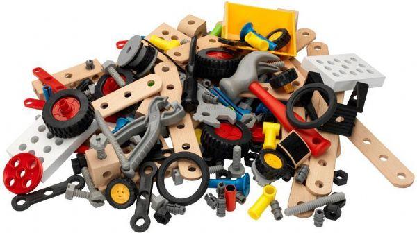 Builder Activity Set - Brio Trælegetøj 034588 - Tog - Brio
