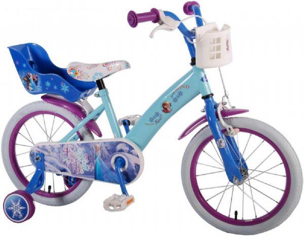 Image of Frost børnecykel 16 tommer - Disney Frozen cykel 51661 (303-051661C)