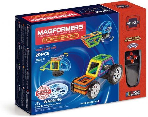 Magformers funny wheel set - magformers byggeklodser 3055 fra magformers fra eurotoys