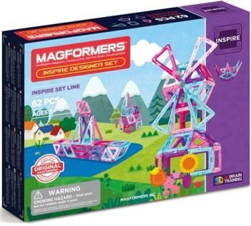 Image of Magformers Inspire 62 set - Magformers Byggeklodser 3060 (331-003060)