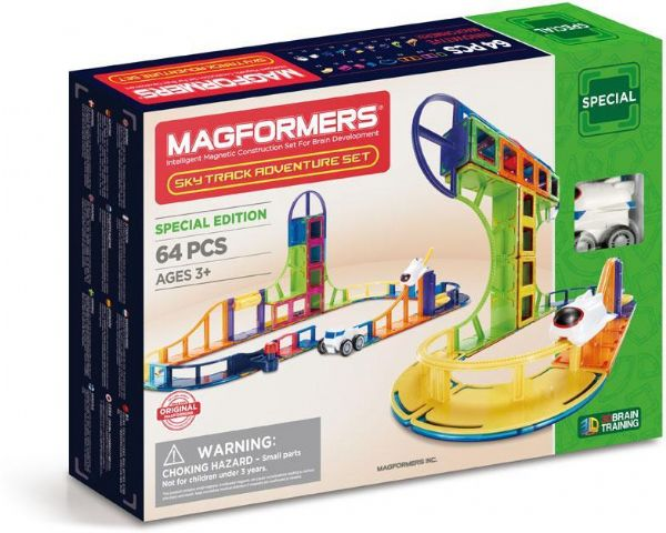Image of Magformers Sky Track 64 pcs - Magformers Byggeklodser 3064 (331-003064)