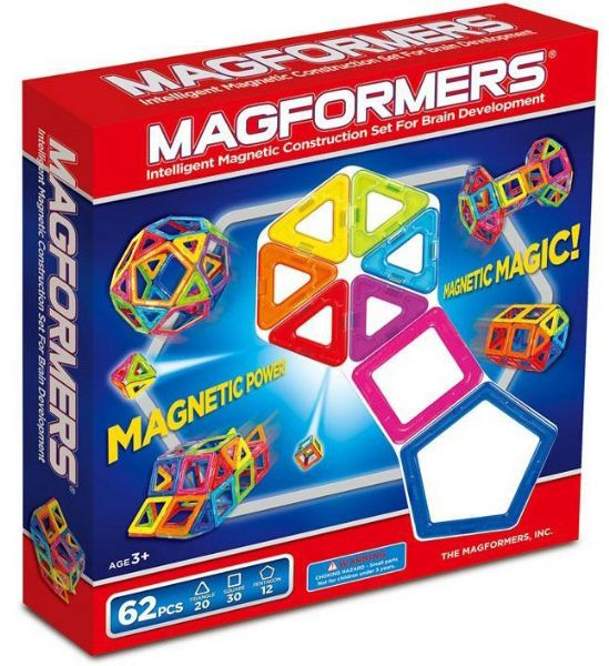 Image of Magformers-62 - Magformers-62 byggeklodser 360026 (331-360026)
