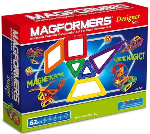 Image of Magformers Designer Set - Magformers Designer Set byggeklodser 361 (331-361146)