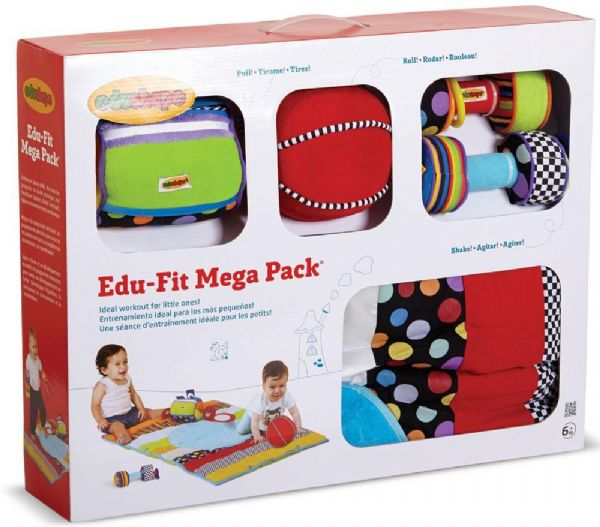 Image of Edu fit sampak - Edushape Baby legetøj 875005 (352-875005)