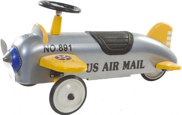 Image of   Retro roller aeroplane Charles gå bil - Retro Roller gåbiler 706120