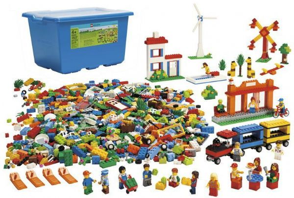 Image of   City Kæmpe start sæt - LEGO Education 9389