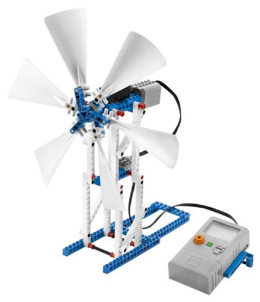 Tillægssæt om vedvarende energi - LEGO Education 9688 - Byggeklodser - Lego Education