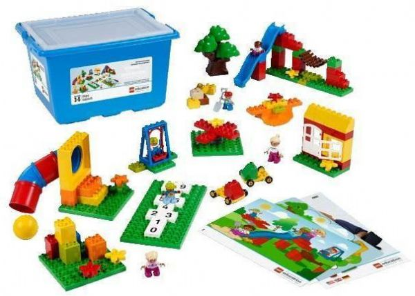 Image of Kæmpe Duplo sæt - Lego Duplo Education 45001 (36-045001)