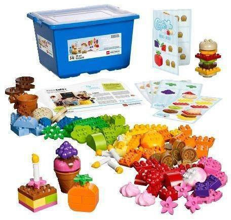 Image of   LEGO DUPLO Café sæt - LEGO DUPLO Education 45004