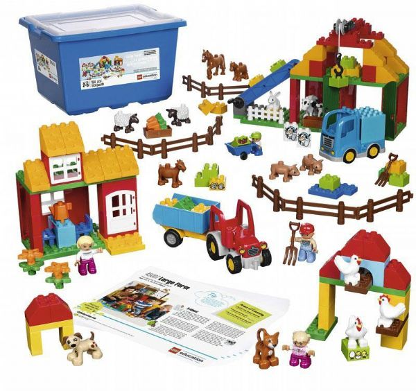 Image of LEGO Kæmpe Bondegårdssæt - LEGO Education 45007 (36-045007)