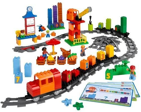 Image of Kæmpe togbane - LEGO DUPLO Education 45008 (36-045008)