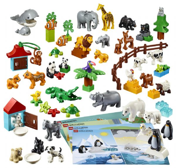 Image of   Dyr - LEGO education 45029
