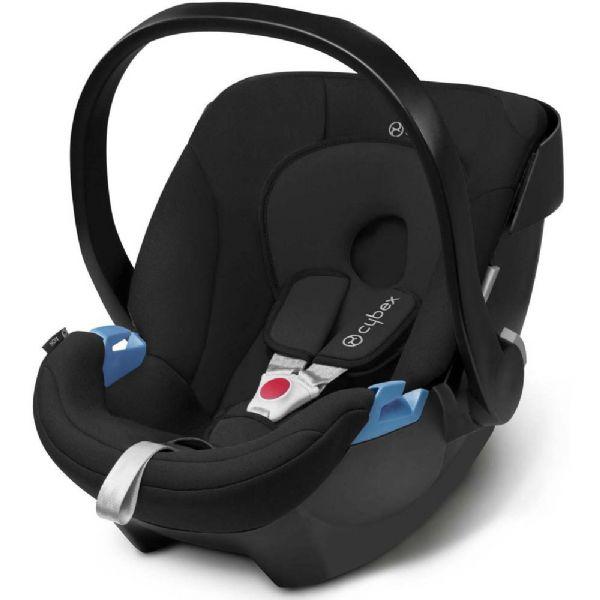 Image of Cybex Aton PureBlack Baby autostol - CYBEX Babyudstyr Babyautostol 513103016 (362-103016)