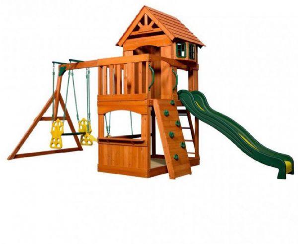 Image of   Atlantic udendøres legesæt - Backyard legeplads 608016