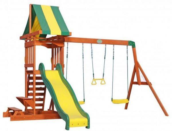 Sunnydale udendøres legesæt - backyard legeplads 808010 fra backyard discovery fra eurotoys