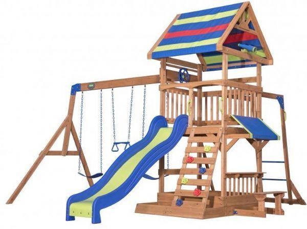 Northbrook udendøres legesæt - backyard legeplads 808034 fra backyard discovery fra eurotoys