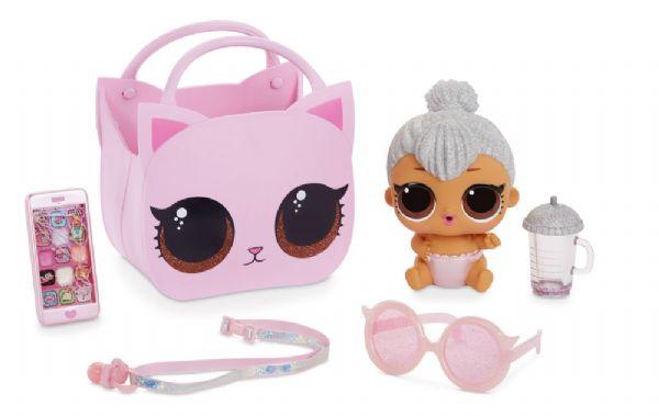 L.o.l ooh la la baby lil kitty queen - lol overraskelsesdukke 562474 fra l.o.l. fra eurotoys