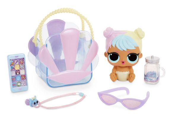 L.o.l ooh la la baby lil bon bon - lol overraskelsesdukke 562498 fra l.o.l. fra eurotoys